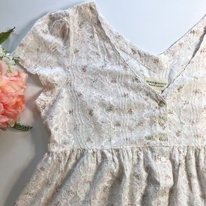 Ralph Lauren Floral Dress size L